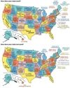 Infographic: United States of the Environment Things your state is best at and Lamest at.. Colorado Lowest Obesity Rates