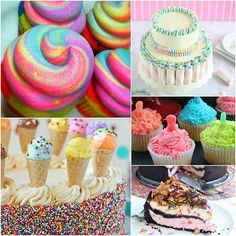 Looking for some easy, fun birthday cake ideas for kids? Don't miss these simple but beautiful DIY birthday party cake and cupcake ideas to celebrate!