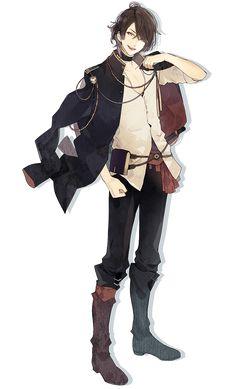 尾崎隼人 オザキハヤト CV:梶裕貴 帝国図書情報資産管理局 探索部所属 まっすぐで正義感が強いところは変わらず、仕事に恋にと、充実した日々を過ごしている。 隼人ルートでは主人公の婚約者。