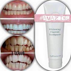 Whitening Toothpaste NO NASTIES, NO PEROXIDE