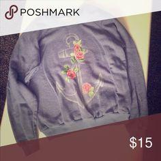 Blue sweat shirt Make an offer Billabong Tops Sweatshirts & Hoodies