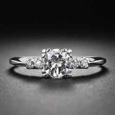 .53 Carat Vintage Diamond Engagement Ring - 10-1-5761 - Lang Antiques