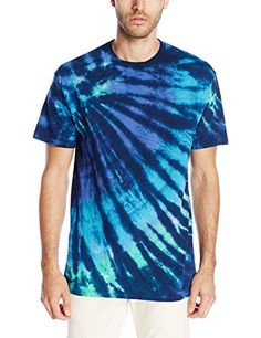 Liquid Blue Men's Cool Nebula T-Shirt Official Liquid Blue merchandise Hand dyed using fiber active dyes for long lasting wear Taped shoulders for strength and comfort Printed in the USA Dye Shirt, Tie Dye T Shirts, Summer Boy, Blue Tie Dye, Screen Printing, Sportswear, Pride, Strength, Amazon