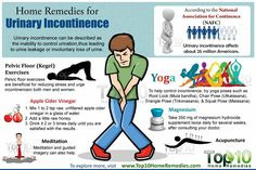 This article was originally published by Top 10 Home Remedies. Urinary incontinence can be described as the inability to control urination, leading to urine leakage. Uti Remedies, Holistic Remedies, Natural Health Remedies, Top 10 Home Remedies, Urinary Incontinence, Floor Workouts, Pelvic Floor, National Association, Health Tips