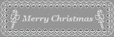 Digital PDF Filet Crochet Pattern: Merry by CrochetMyStyle on Etsy