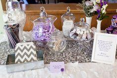 lavender purple waiting on cloud nine heavenly valentine baby shower dessert table