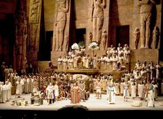 Aida the opera was performed in Rome at the Baths of Caracalla. 1965