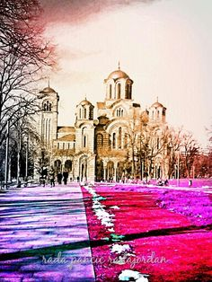 Beograd-Tasmajdan  Crkva Svetog Marka -Radmila Pancic radajordan