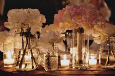 candle light and romantic flowers...what more could I ask for?  Weddings in Hawaii