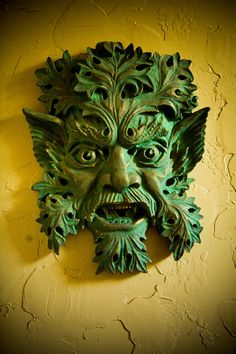 Greenman, by Walter Arnold who carved on the Washington National Cathedral