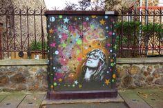Sunday Street Art : C215 - avenue Jean Jaurès - Vitry-sur-Seine   ParisianShoeGals