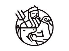 Creative Logo, Poseidon, Matt, Lehman, and Branding image ideas & inspiration on Designspiration Typography Logo, Graphic Design Typography, Art Logo, Logo Branding, Branding Design, Logo Desing, Creative Logo, Logo Design Inspiration, Icon Design