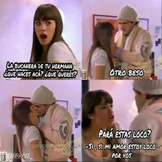 Casi angeles escenas thiagueella Series Movies, Spanish Quotes, Memes, Fangirl, Nostalgia, In This Moment, Tv, Angels, Brunettes