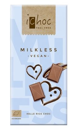 """Milkless  Pure """"milk""""chocolade (made on the basis of ricedrink), refined with bourbon vanilla and a pinch of sea salt. #veganchocolate"""