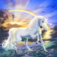 Wall mural - Rainbow Unicorn