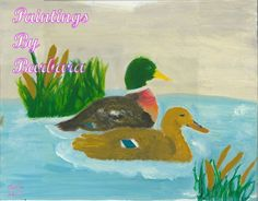 Hello and welcome to Paintings By Barbara. Barbara Flanagan is an artist located in Maryville, TN, painting the nature around her. Mallard, House Painting, Ducks, Pond, Digital Art, Paintings, Landscape, Artist, Prints