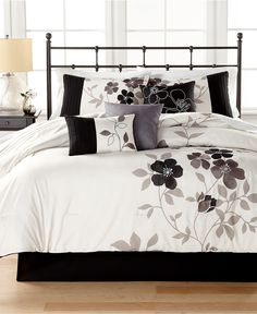 Shiloh 7-Pc. Comforter Sets - Bed in a Bag - Bed & Bath - Macy's