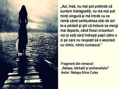 Citat din cartea Natasa, barbatii si psihanalistul - autor Natasa Alina Culea