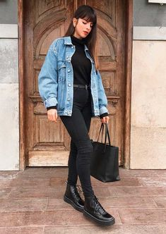 Trendy Fall Outfits, Popular Outfits, Winter Fashion Outfits, Simple Outfits, Look Fashion, Daily Fashion, Stylish Outfits, Cool Outfits, Womens Fashion