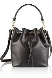 Emmanuelle medium leather shoulder bag