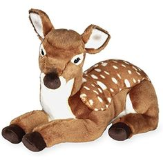 FAO Schwarz 18 inch Plush Lying Fawn ** You can find out more details at the link of the image. (This is an affiliate link) #Puppets