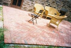 Do it Yourself Brick Paver Patio thumbnail