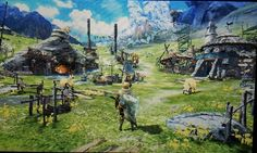 Monster Hunter, Fantasy World, Scene, Concept, Painting, Painting Art, Paintings, Painted Canvas, Drawings