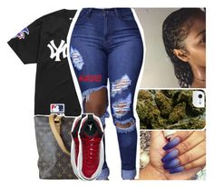 """""""#quaworld🌎❤️"""" by lamamig ❤ liked on Polyvore featuring Supreme, Louis Vuitton and NIKE"""