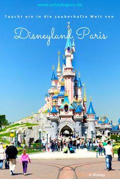 """""""Hier verlassen Sie die Realität"""" müsste ein Warnhinweis am Eingang von Disneyland® lauten. Denn genau das ist der Fall, wenn man einen der bald weltweit 5 Disneyland® Parks betritt. Eine Welt voller Zauber und Attraktionen erwarten Besucher im Disneyland® Paris, Disneyland® Anaheim/Kalifornien, Hong Kong, Tokio und in Shanghai."""