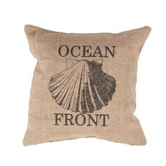 Handmade Taupe/ Tan/ Black Jute (20''x20'') Pillow. Overstock.com. I love this one too!