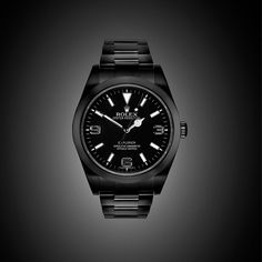 BLACK-OUT Rolex Explorer by PROJECT X