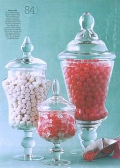 Candy Table Jars Buffet Dessert Bars
