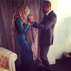 Beyoncé & Jay Z. She's just so perfect, it makes my stomach hurt.