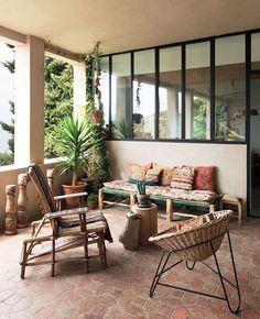 Terrasse bohème chic : idées et inspirations | My Blog Deco Bohemian Interior Design, Interior Design Tips, Home Interior, Interior And Exterior, Design Ideas, Simple Interior, Interior Ideas, Interior Bohemio, Bohemian Chic Home