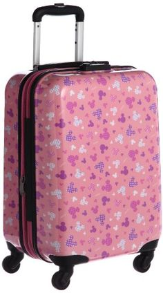 Mickey Mouse Pink Suitcase