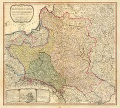 A 1799 map of the Partitions of Poland [6330  5677]. http://ift.tt/1pc5B7E