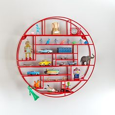 Radial Wall Shelf in Shelves & Hooks | The Land of Nod