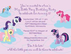 13 Best My Little Pony Baby Shower Images In 2015 Baby Shower