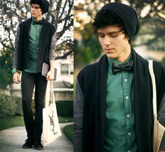omg super like!! (shirt and jacket --> less student-looking)