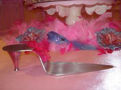 cake server from a Fancy Nancy soiree