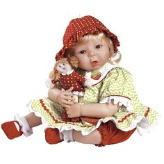 Paradise Galleries Sweet Berry Baby, 20 inch Realistic Baby Doll in Silicone-Like Flex-Touch Vinyl ** Hurry! Check out this great product : Collectible Dolls for Home Decor