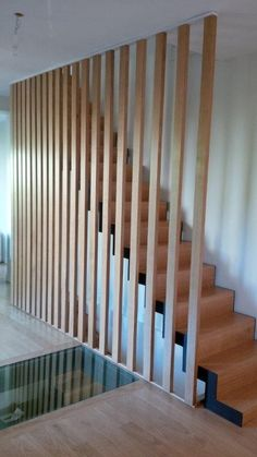 New house stairs design stairways basements ideas Loft Stairs, Basement Stairs, House Stairs, Basement Ideas, Home Stairs Design, Interior Stairs, Railing Design, House Design, Timber Stair