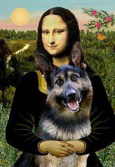 Mona finally found a reason to really smile