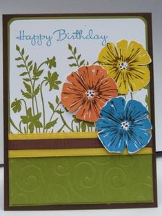 Just another birthday by jo1171 - Cards and Paper Crafts at Splitcoaststampers
