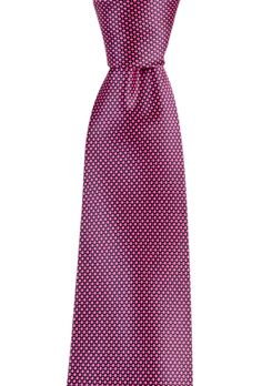 Pink perfection in this ITALO FERRETTI Silvi Marina Magenta Polka Dot Handmade Silk Neck Tie!  |  Go Shopping! http://www.frieschskys.com/neckwear/ties  |  #frieschskys #mensfashion #fashion #mensstyle #style #moda #menswear #dapper #stylish #MadeInItaly #Italy #couture #highfashion #designer #shopping
