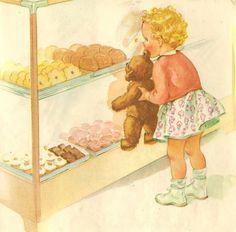 vintage Dick & Jane bk illustrated by Miriam Story Hurford