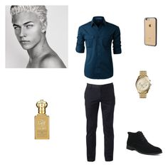 """""""Gold"""" by fashion-queen25 ❤ liked on Polyvore featuring LE3NO, Urban Pipeline, Michael Kors, Incase, Clive Christian, men's fashion, menswear and menswearessential"""