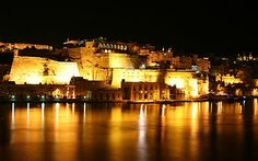 Beautiful night-out in Malta/ Hermosa noche en Malta.
