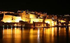 Beautiful night-out in Malta/ Hermosa noche en Malta.