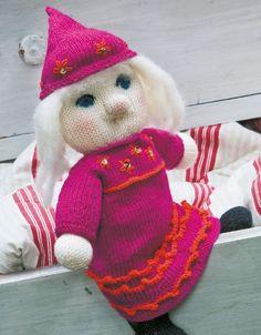 Strik: En nissepige i festtøj - Hjemmet DK